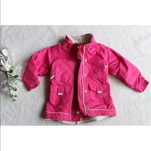 Baby Gap Girls Pink Jacket Zipper Toddler Coat